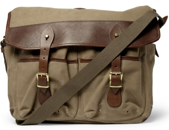 J Crew Beaumont Messenger Bag