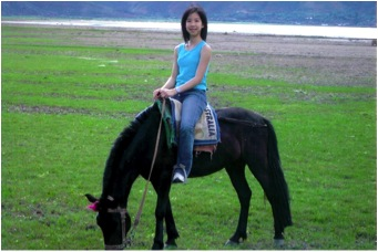 One of my most memorable experiences on horseback.