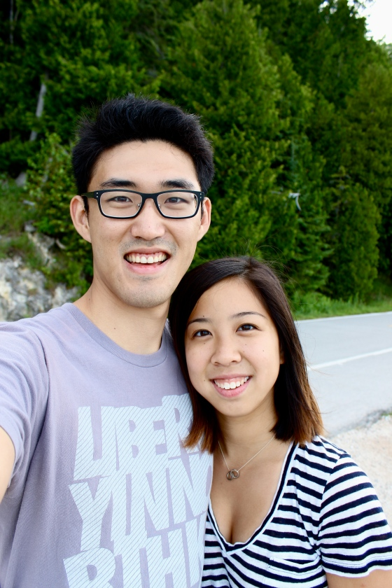 Us this past weekend, on a getaway to Mackinac Island.