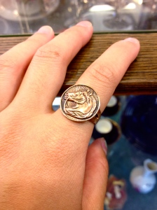 Copper Horse Ring