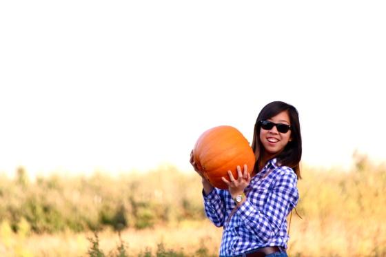 Rebecca Pumpkin Picking