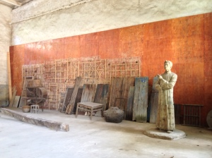 Abandoned Communist barracks