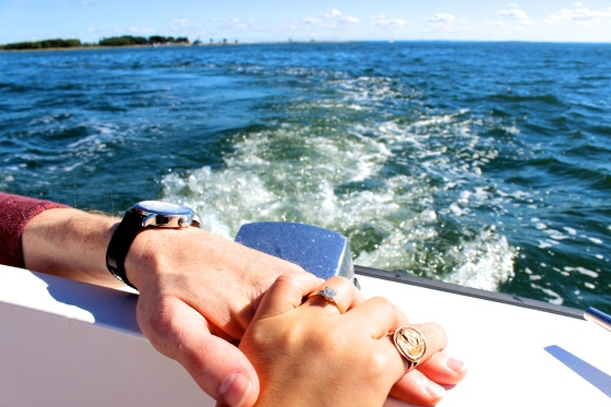Engagement on a Boat